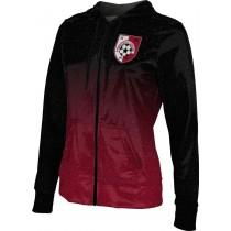ProSphere Women's SMP Spirit Wear Ombre Fullzip Hoodie