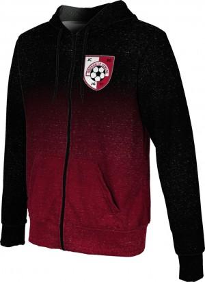 ProSphere Boys' SMP Spirit Wear Ombre Fullzip Hoodie