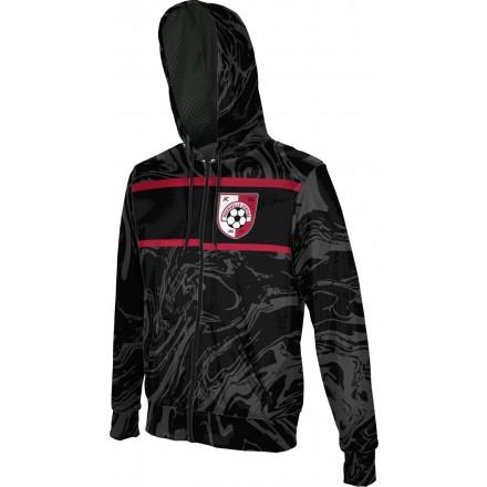 ProSphere Boys' SMP Spirit Wear Ripple Fullzip Hoodie